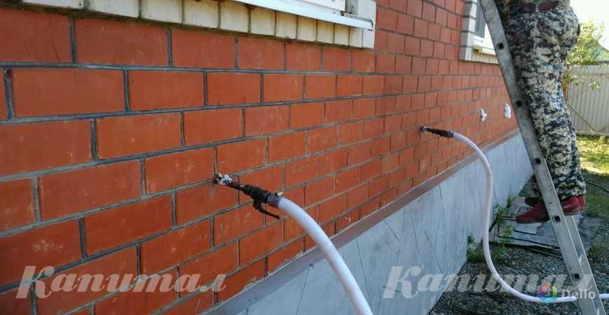 Утепление зданий пеноизолом