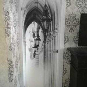 Межкомнатная дверь с фотопечатью в Слуцке