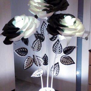 Светильники ручной работы. Большие цветы